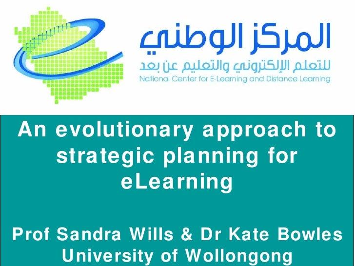 Strategic Planning for Blended eLearning