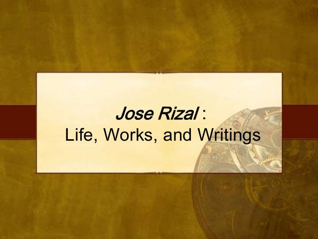 Rizal - Chapter 1
