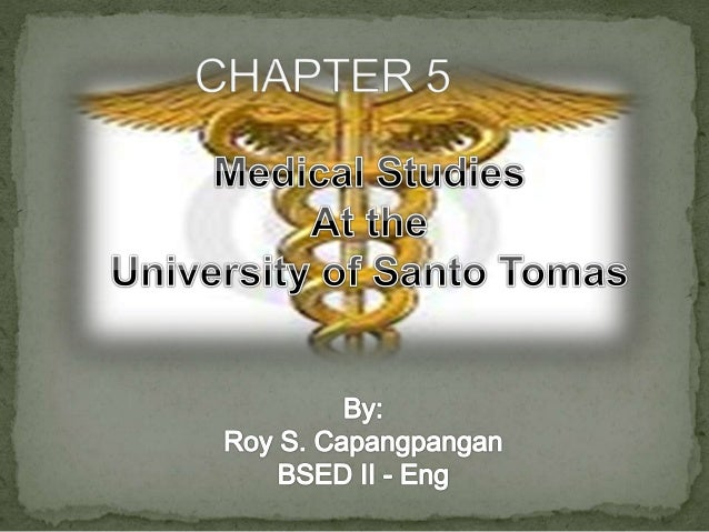 medical studies in ust The complete list of educational levels offered by the university of santo tomas click here now to view the complete lists and be an actual thomasian now.