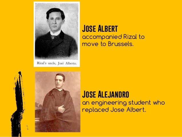 reaction on rizal in brussels