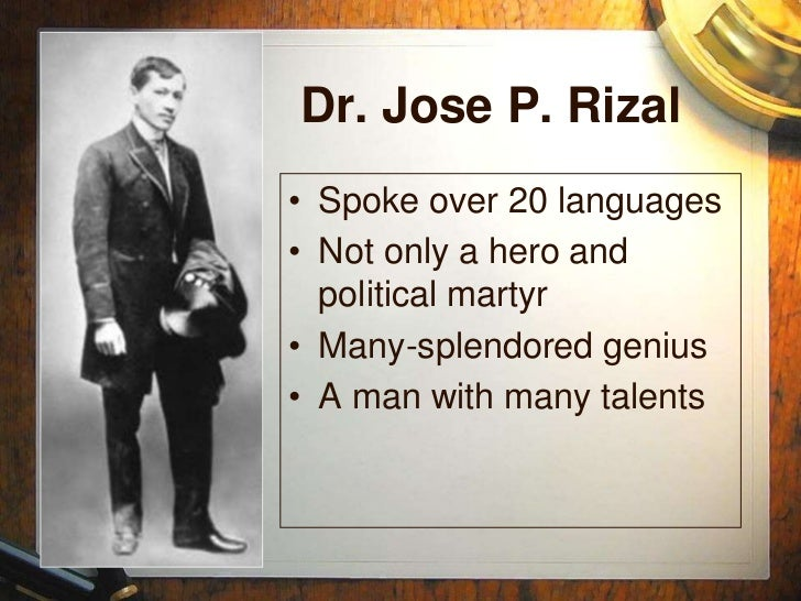 what is the summary of the advent of a national hero dr jose rizal By: venice nicole a am0roso jose rizal the movie is a film directed by marilou diaz-abaya, which showcased the summary of the life of dr jose rizal, beginning from his childhood until his execution in 1896 the character of the philippine national hero was portrayed by cesar montano.