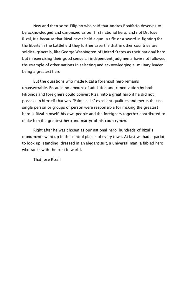 reaction paper pasyon ni rizal (dalawang pahinang reaction paper na aking sinulat para sa klase kong pi 100) aking binasa ang dalawang artikulo hinggil sa ating pambansang bayani na si dr jose rizal.