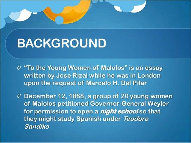 Rizal's essay