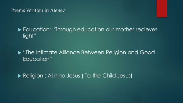 The Intimate Alliance Between Religion And Good Education Essay Sample