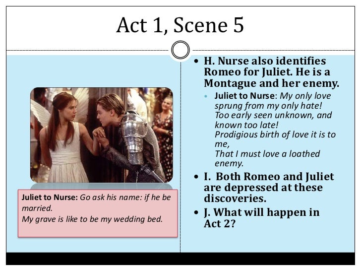 Romeo and juliet act 1 scene 5 essay