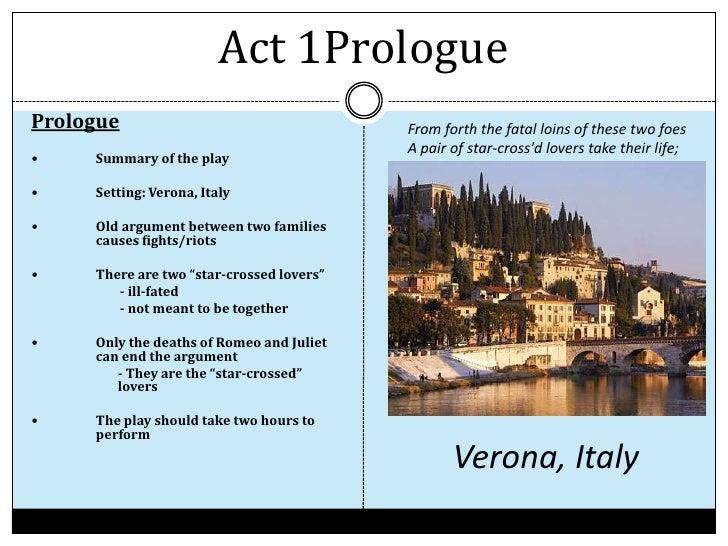romeo and juliet act 1 summary