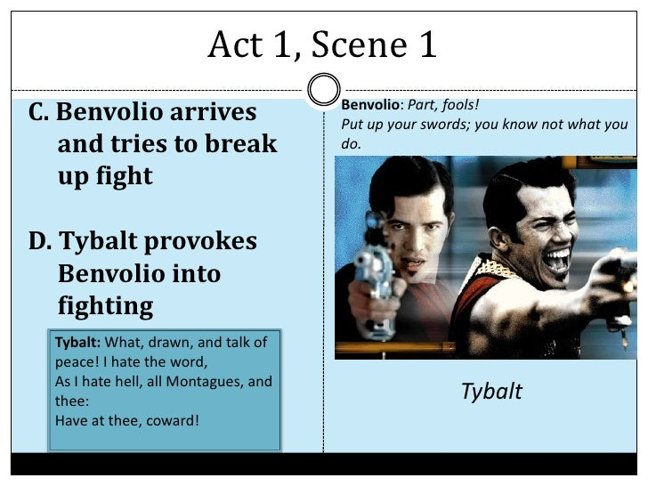 romeo and juliet act ii scene 'romeo and juliet' scenes  scene 2: romeo asks friar lawrence to marry him to juliet  in an act of revenge, romeo kills tybalt.