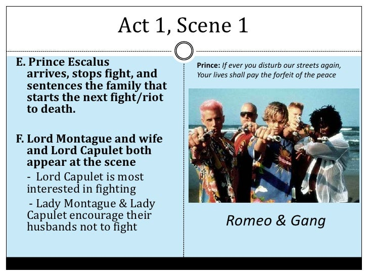 Essay Romeo and Juliet Act 3 Scene 1