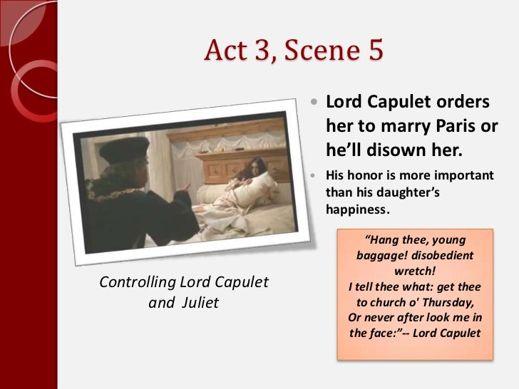 Act 3 scene 5 romeo and juliet essay
