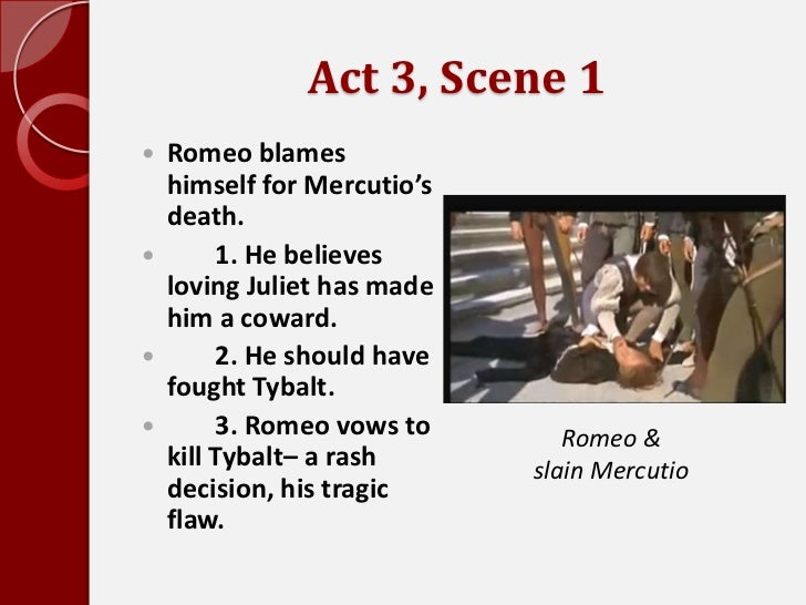 Romeo and juliet conflict essay act 3 scene 1