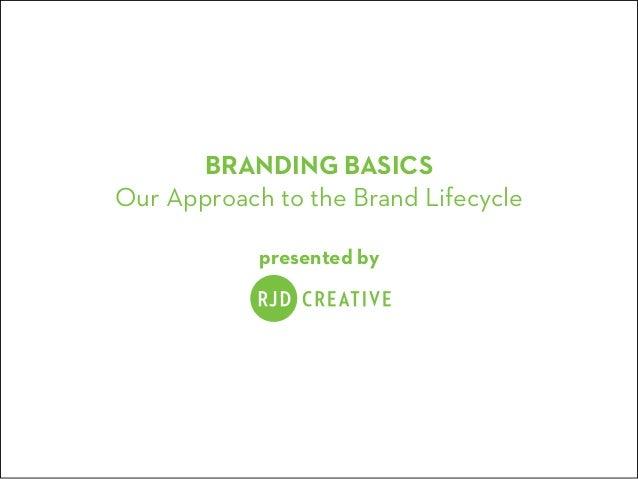 RJD Creative Branding Basics