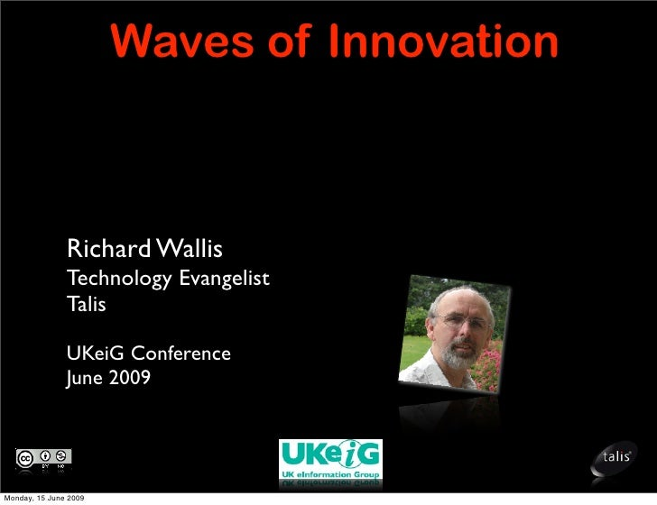Waves of Innovation: Signposts to a new web of  information