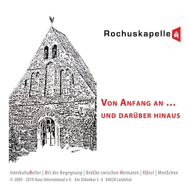 Geschichte Rochuskapelle Landshut