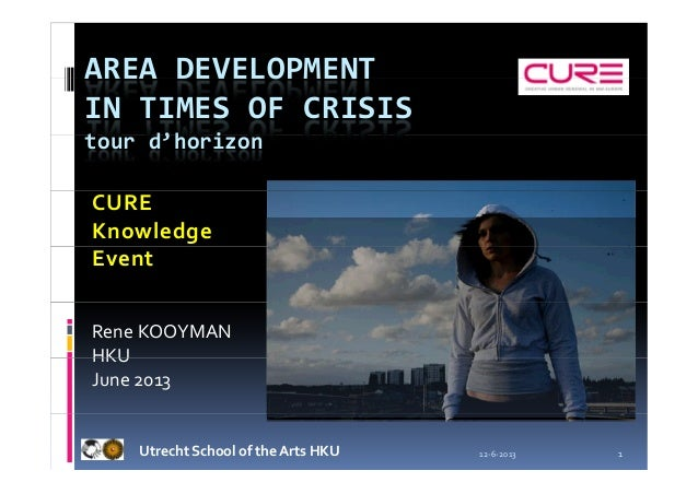 Creative Urban Renewal Knowledge Event (CURE), Utrecht Conference.