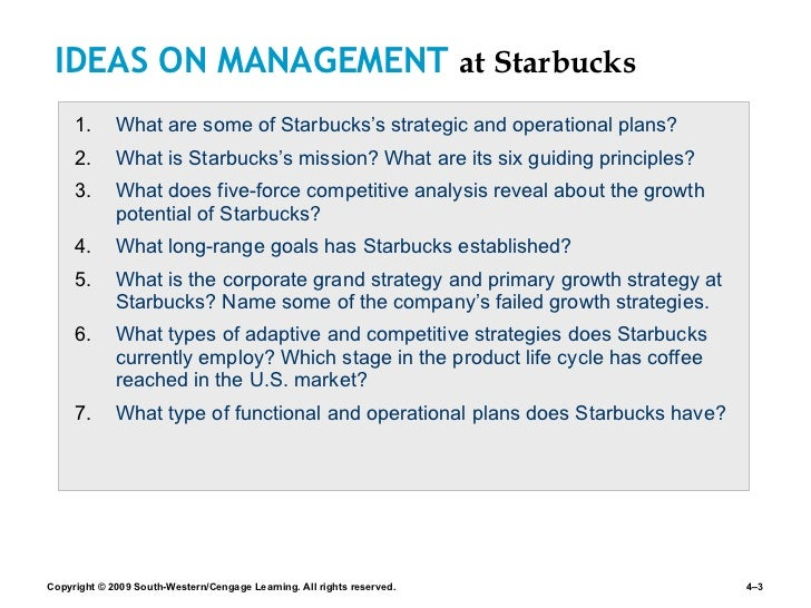 Starbucks Presents its Five-Year Plan for Strong Global Growth