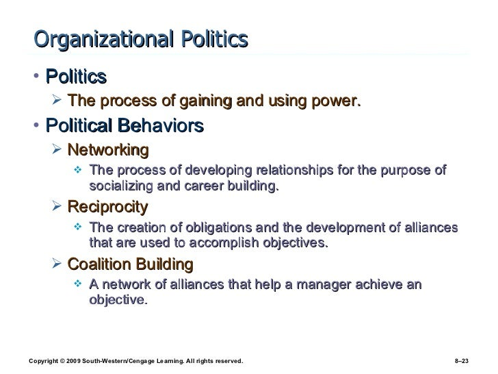 organizational behavior conclusion essay Organizational behavior  would recommend 3 review the definition of organizational politics can an organization be totally free of political behavior.