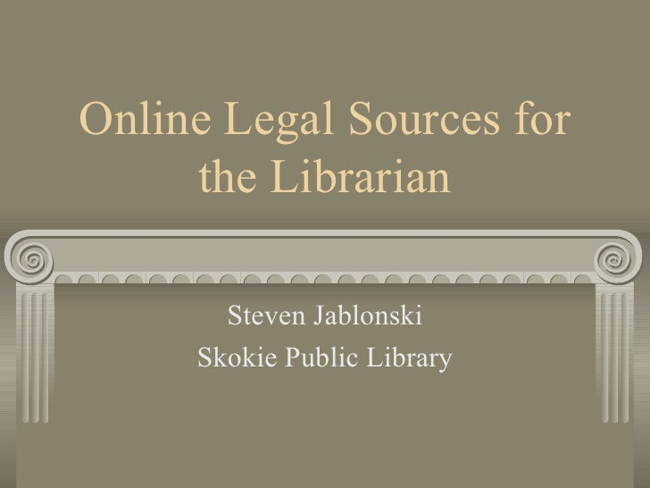 RLA Program: Online Legal Resources