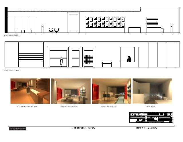 R levine portfolio for Interior elevation designs