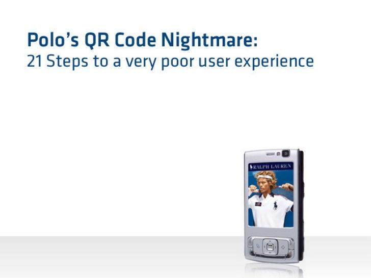 Polo's QR Codes suck!