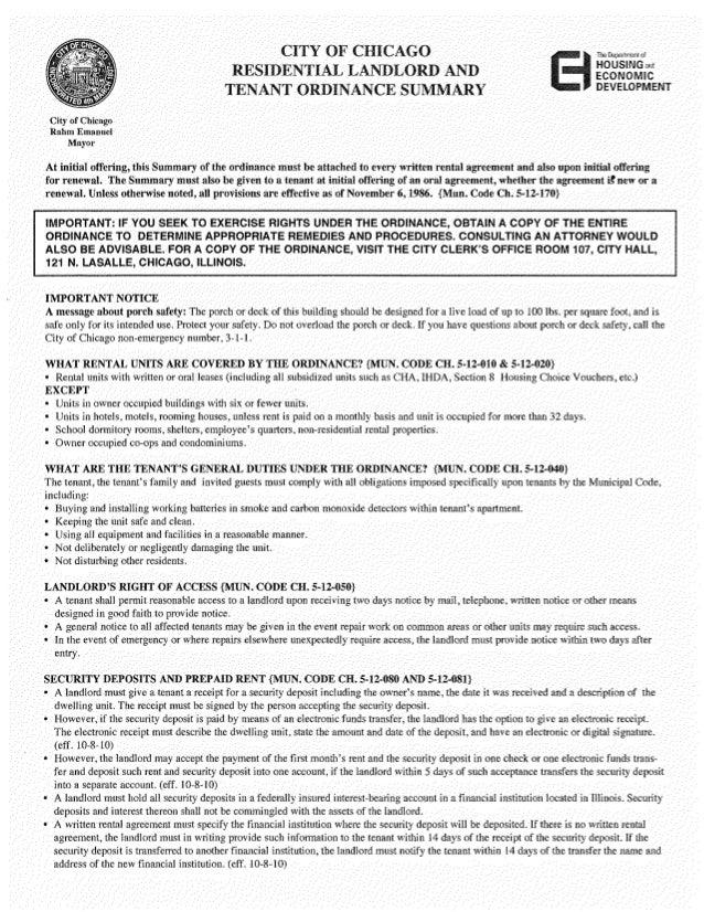 RLTO Summary Page 1