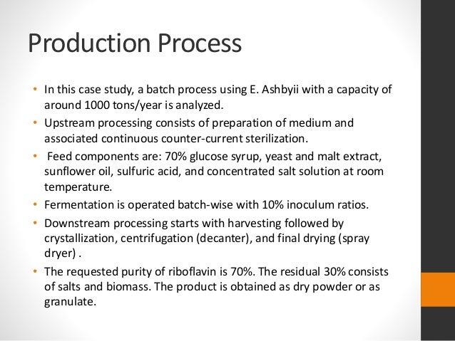 Riboflavin U2013vitamin B2 Fermentation Process