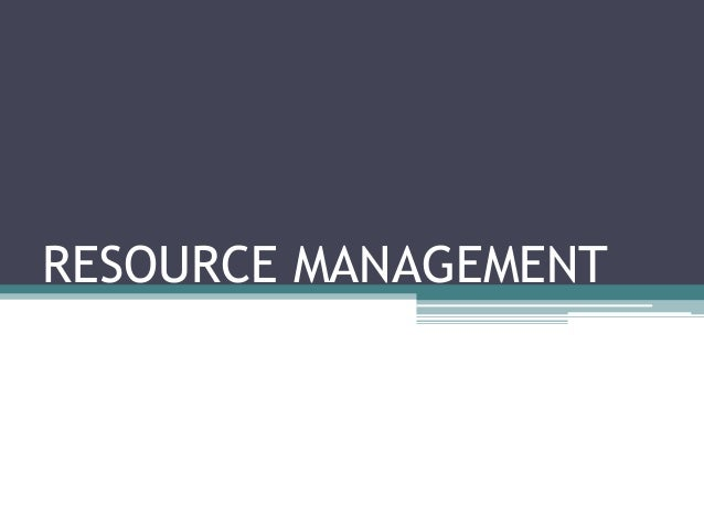 L'cong | Resource Management