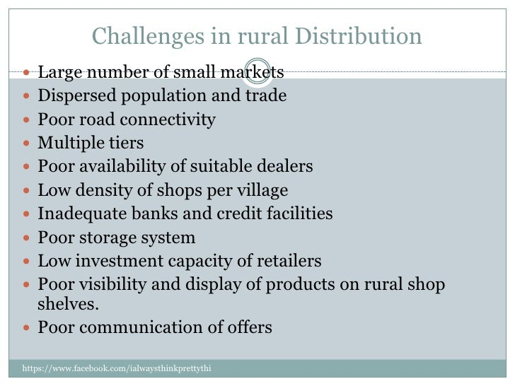 Rural Marketing Strategies Distribution Strategies