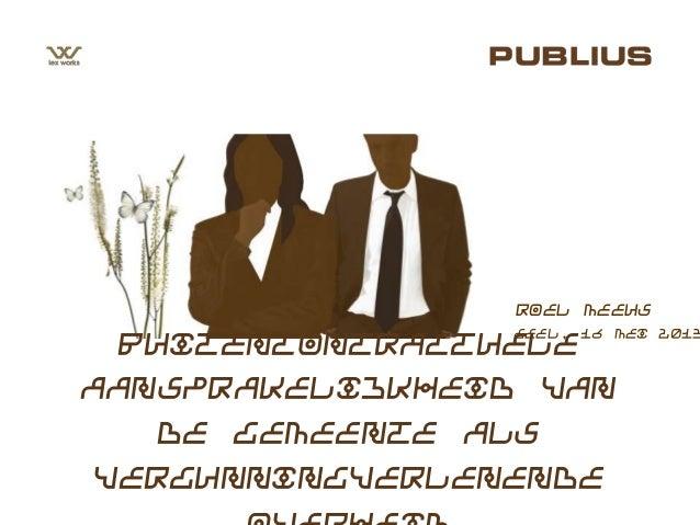 Geel, 16 mei 2013Roel MeeusBuitencontractueleaansprakelijkheid vande gemeente alsvergunningverlenende