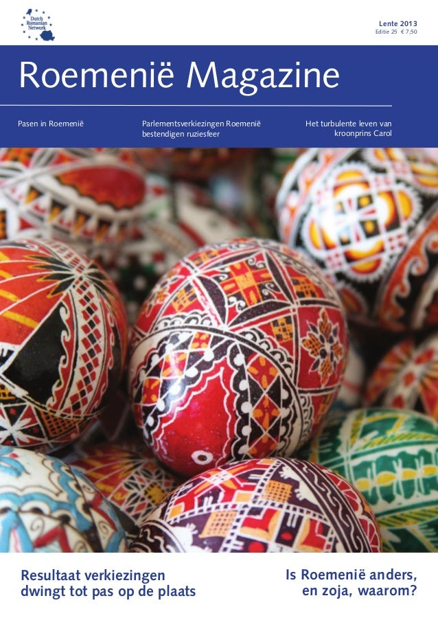 Roemenië Magazine Lente 2013