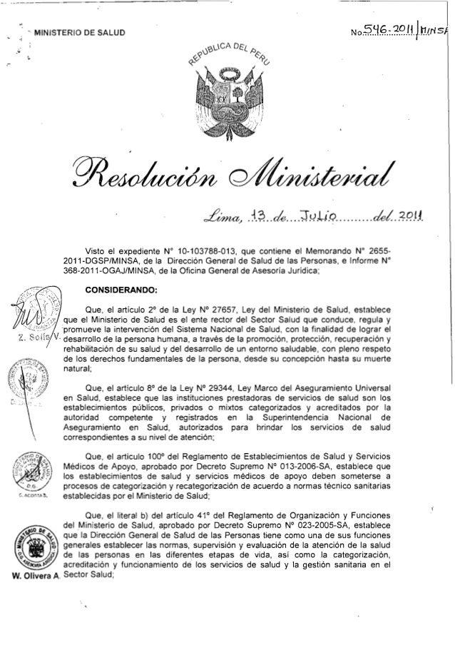 "- MINISTERIO DE SALUD "" .' , Lima., .{;¡..~....J ~:L.i.Q..........ele!.. .=?RH.  Visto el expediente N"" 10-103788-013, qu..."