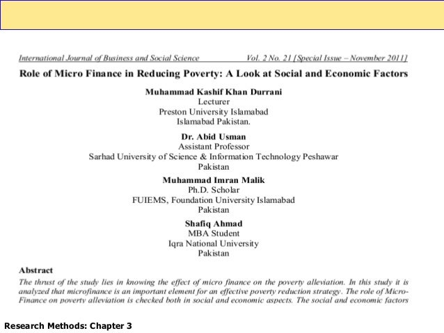 effects of microfinance on poverty reduction