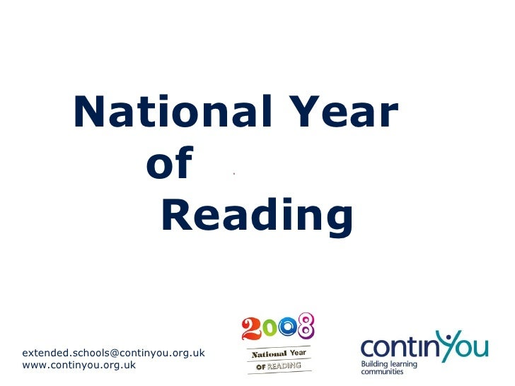 National Year  of  Reading