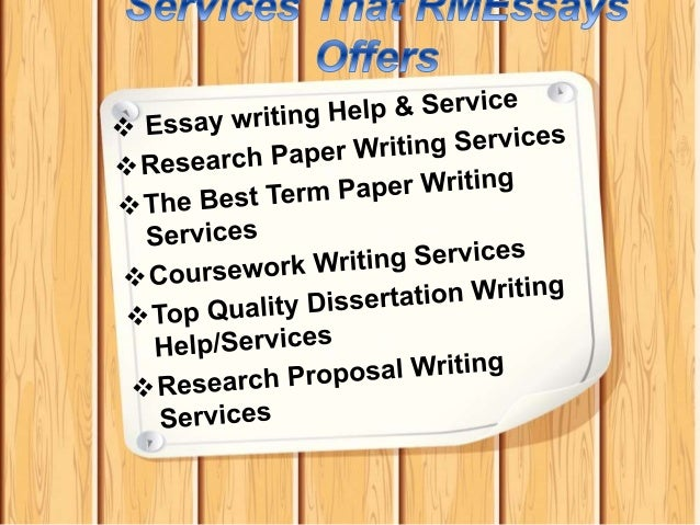 Original writing service