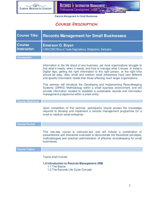 small business management research paper Others or commit ideas to paper (robinson & pearce, 1984) research into it is important to draw a distinction between the process of small business management.