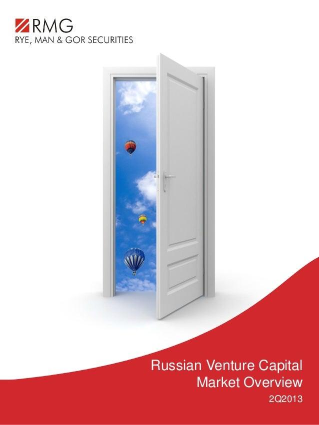 Russian Venture Capital Market Overview 2Q2013