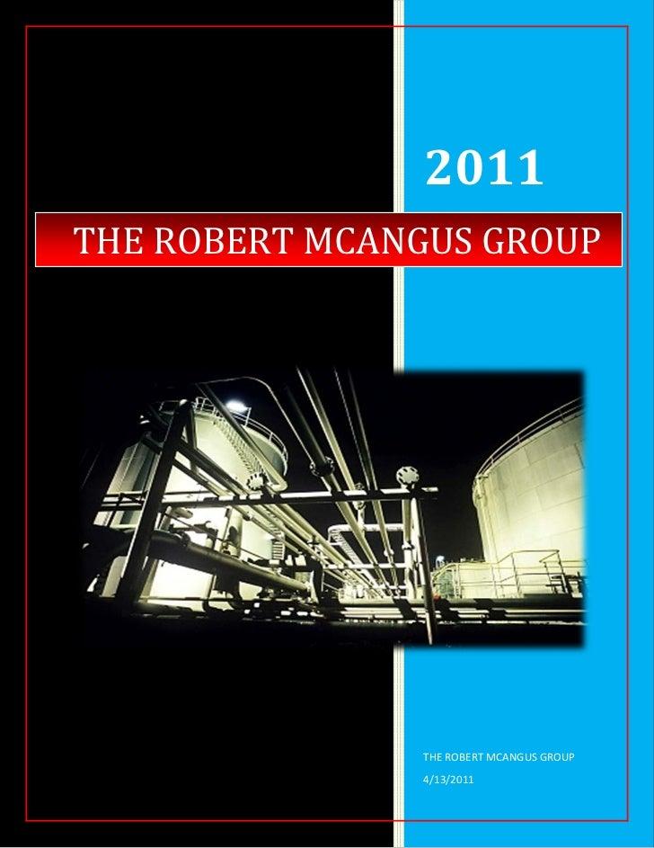 RMG   Supplying Energy   August 2011