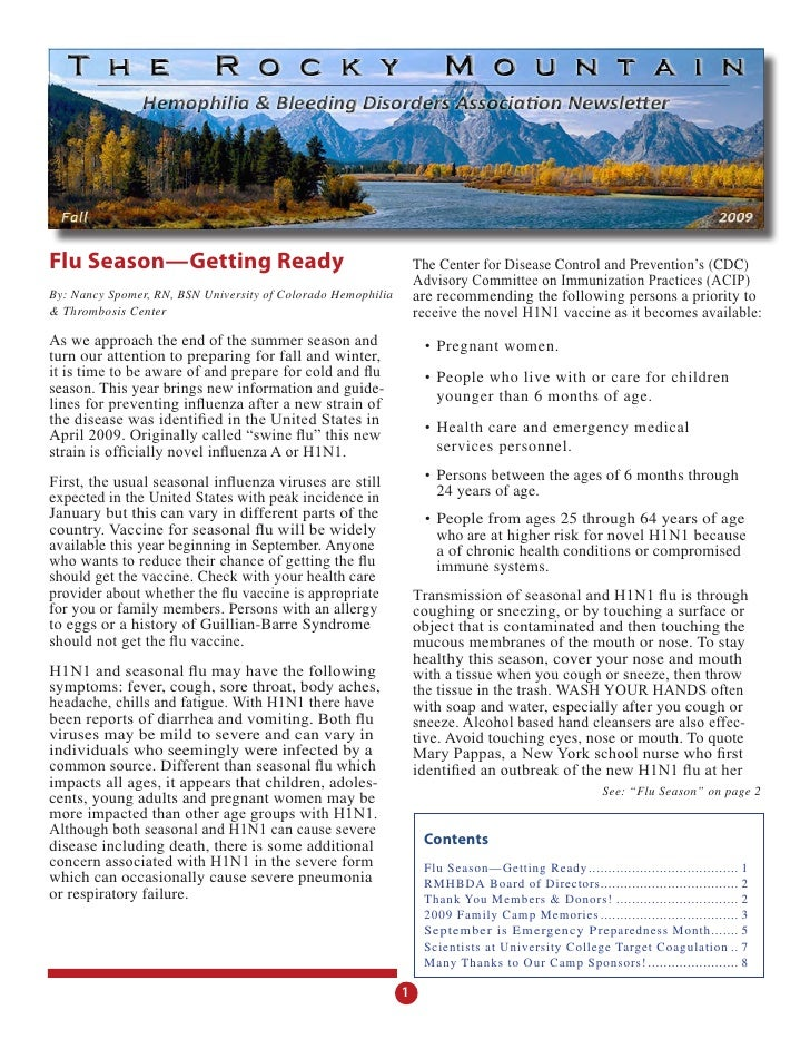 Rmhbda Newsletter   Sept  2009 Reduced