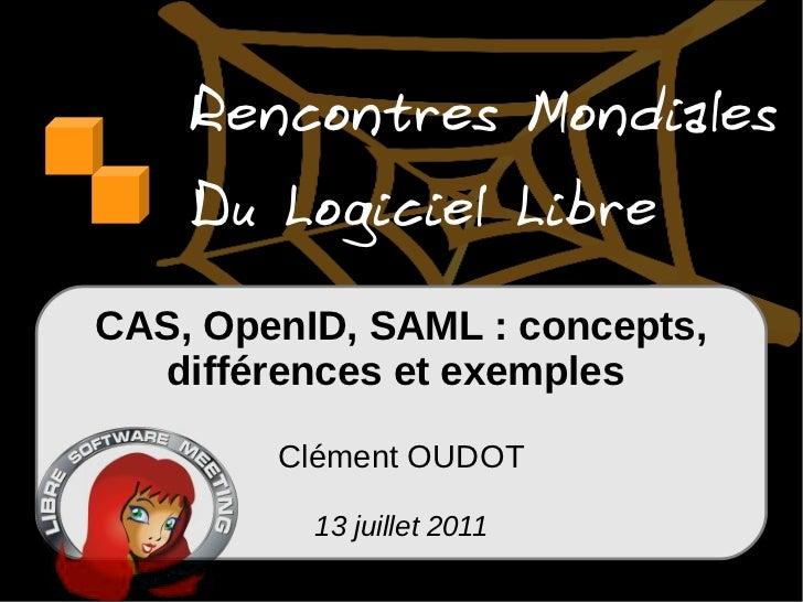 CAS, OpenID, Shibboleth, SAML : concepts, différences et exemples