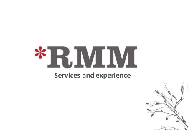 *    Services and experience