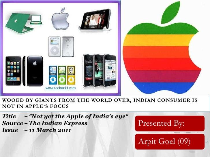 Rm presentation apple
