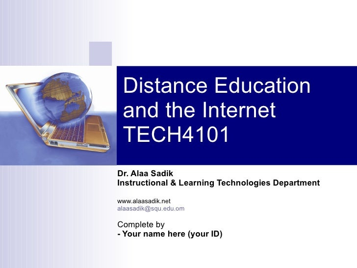 defintion of distance education