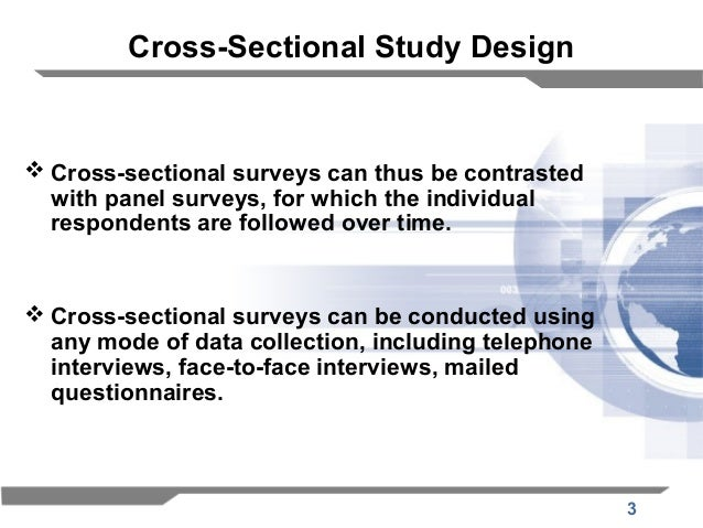 What is difference between cross-sectional data and panel ...