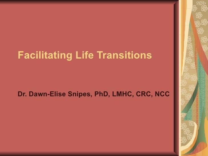 RNAO Life Transitions