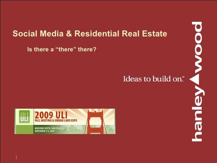 Real Estate Social Media 2.0
