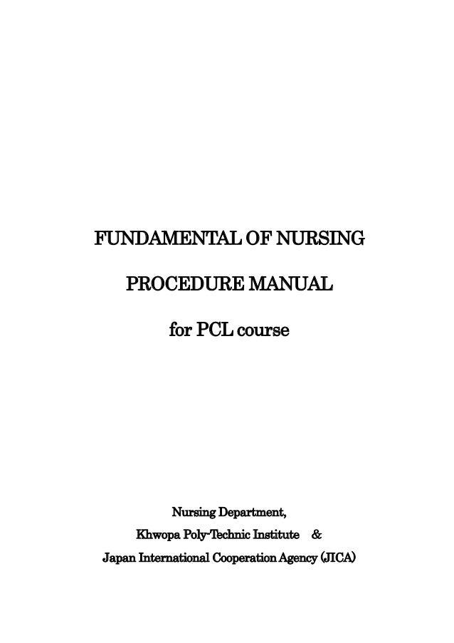 Rn fundemental of nursing