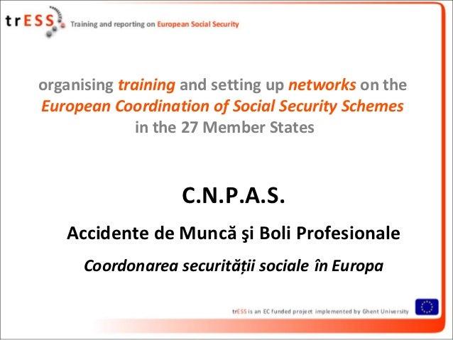 2010 - C.N.P.A.S. Accidente de Muncă şi Boli Profesionale