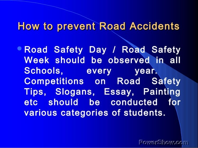 causes of cars accidents essay Free essays on the causes of car accidents get help with your writing 1 through 30.