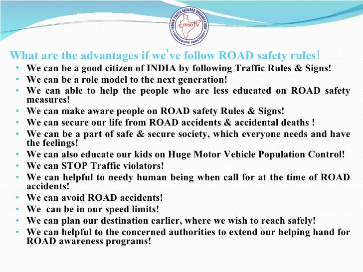essay follow traffic rules avoid accidents