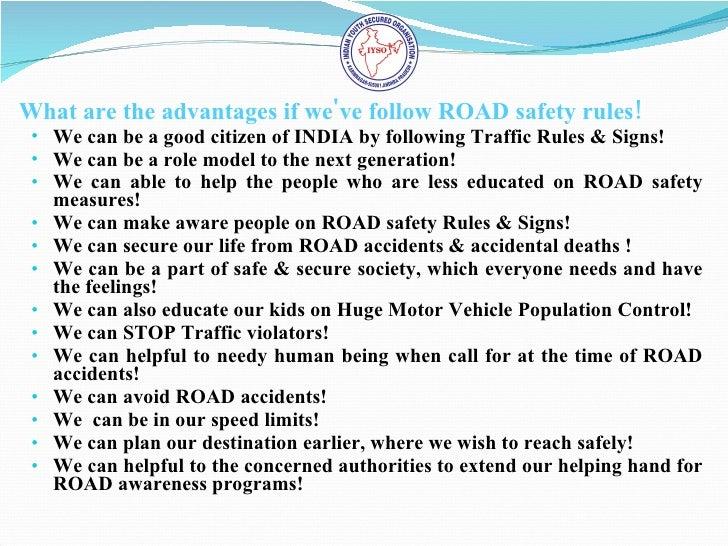 essays on traffic rules
