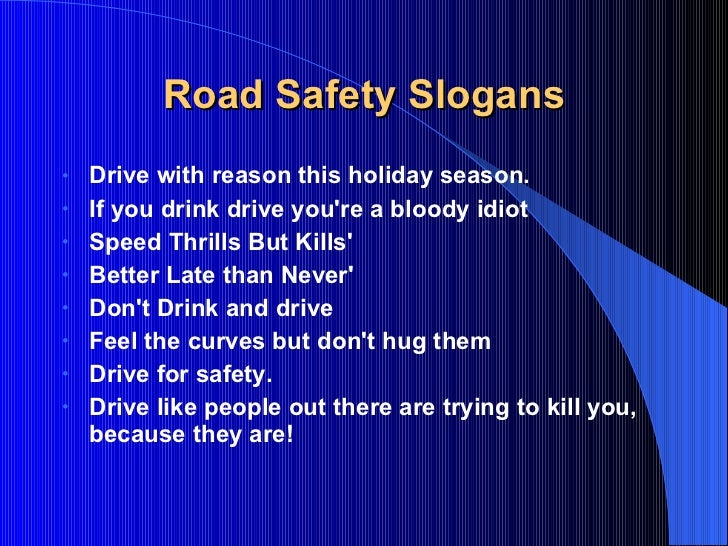 essay on the topic road safety